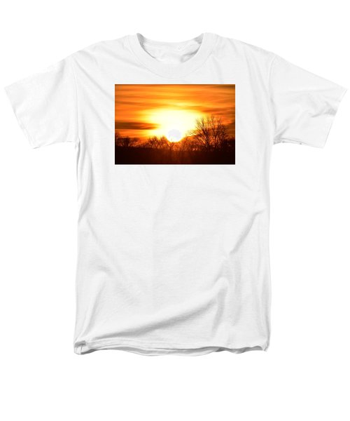 Men's T-Shirt  (Regular Fit) featuring the photograph Saturday Mornings Sunrise by Dacia Doroff