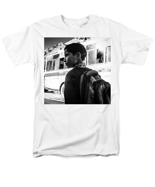 School Boy Men's T-Shirt  (Regular Fit)