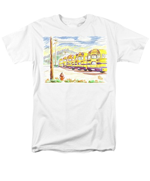 School Bussiness Men's T-Shirt  (Regular Fit) by Kip DeVore
