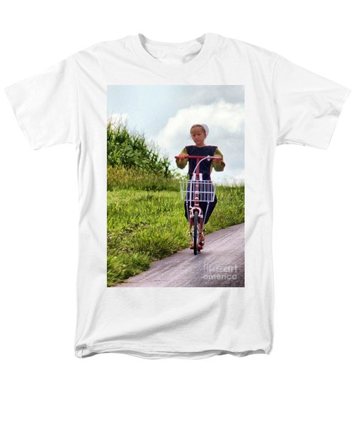 Men's T-Shirt  (Regular Fit) featuring the photograph Scootin' by Polly Peacock