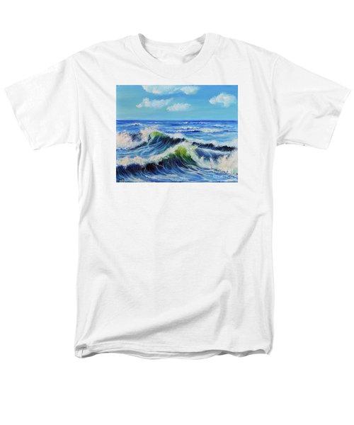 Seascape No.3 Men's T-Shirt  (Regular Fit) by Teresa Wegrzyn