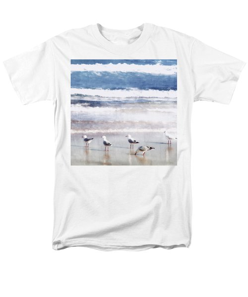 Men's T-Shirt  (Regular Fit) featuring the photograph Seaspray by Holly Kempe