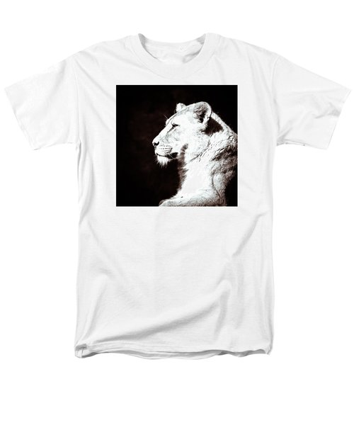 Seeing Double I Men's T-Shirt  (Regular Fit) by Wade Brooks