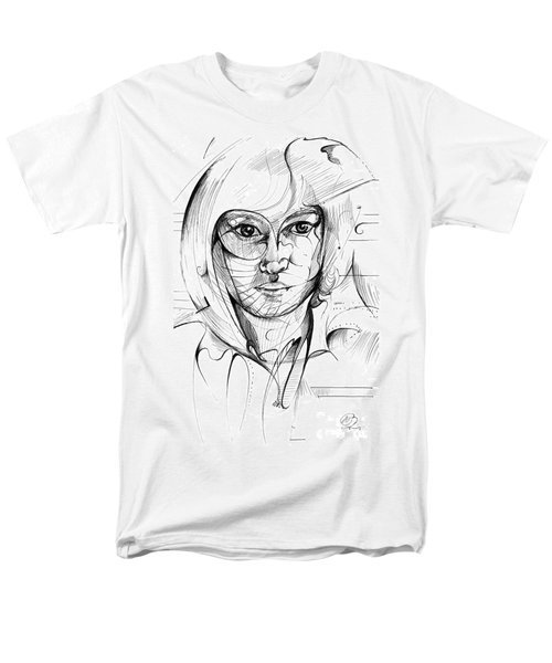 Self Portrait Men's T-Shirt  (Regular Fit)