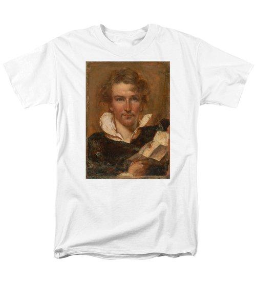 Self Portrait Men's T-Shirt  (Regular Fit) by William Etty