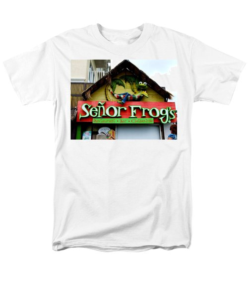 Senor Frogs Men's T-Shirt  (Regular Fit) by Michiale Schneider