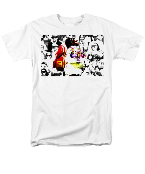 Serena Williams 2f Men's T-Shirt  (Regular Fit) by Brian Reaves