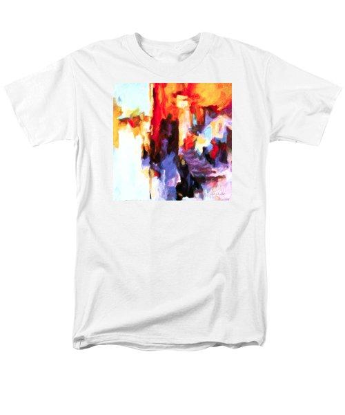 Seven Steps Men's T-Shirt  (Regular Fit)