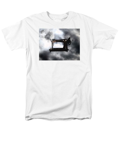 Men's T-Shirt  (Regular Fit) featuring the photograph Sewing Gun by Christopher Woods