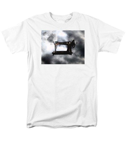 Sewing Gun Men's T-Shirt  (Regular Fit) by Christopher Woods