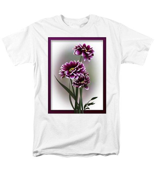 Shades Of Purple Men's T-Shirt  (Regular Fit) by Judy Johnson