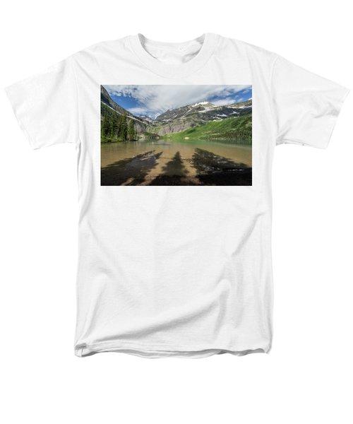 Shadows Men's T-Shirt  (Regular Fit) by Alpha Wanderlust