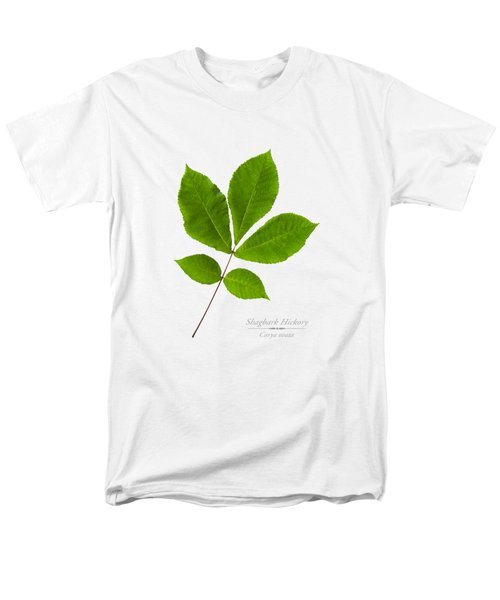 Men's T-Shirt  (Regular Fit) featuring the photograph Shagbark Hickory by Christina Rollo