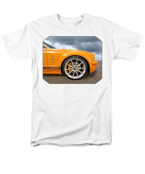 Shelby Gt500 Wheel Men's T-Shirt  (Regular Fit) by Gill Billington