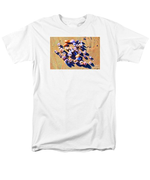 Men's T-Shirt  (Regular Fit) featuring the photograph Shell Collection by Roberta Byram