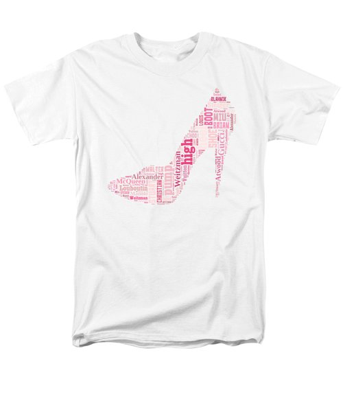 Shoe Lover Tee Men's T-Shirt  (Regular Fit) by Edward Fielding