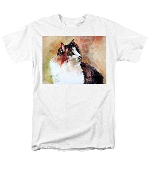 Siberian Forest Cat Men's T-Shirt  (Regular Fit) by Khalid Saeed