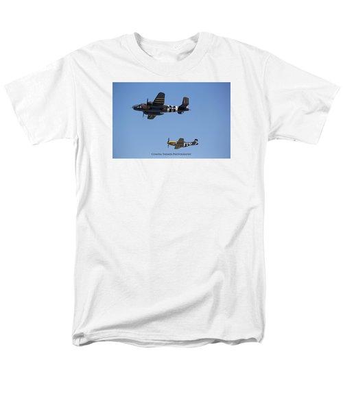 Side By Side Men's T-Shirt  (Regular Fit)