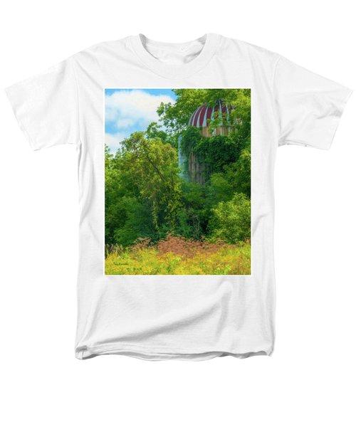 Silent Silo On Nottleson Road Men's T-Shirt  (Regular Fit) by Trey Foerster