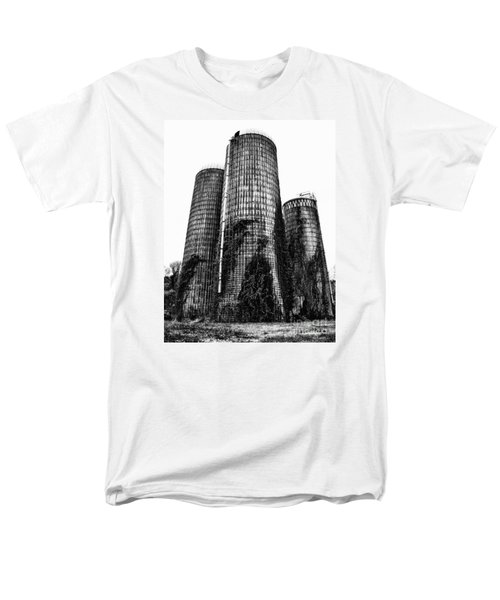 Men's T-Shirt  (Regular Fit) featuring the photograph Silos by Tamera James