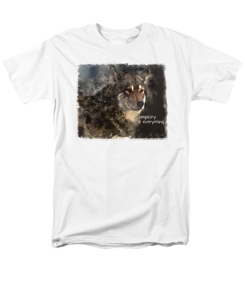 Simplicity Men's T-Shirt  (Regular Fit)