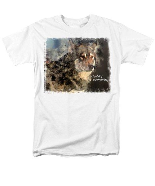 Simplicity Is Everything -light Men's T-Shirt  (Regular Fit)