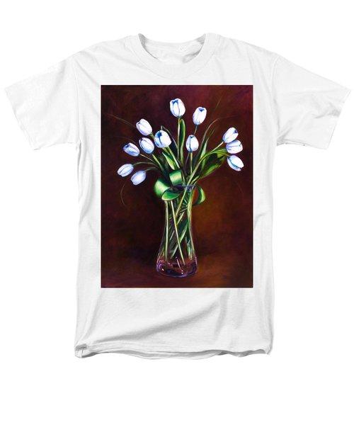 Simply Tulips Men's T-Shirt  (Regular Fit)