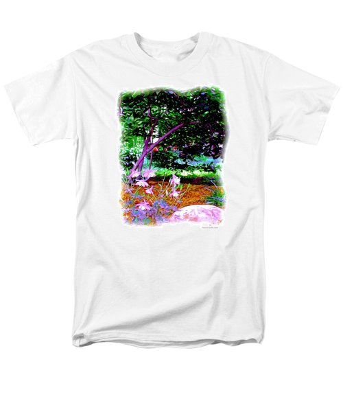 Men's T-Shirt  (Regular Fit) featuring the painting Sitting In The Shade by Patricia Griffin Brett