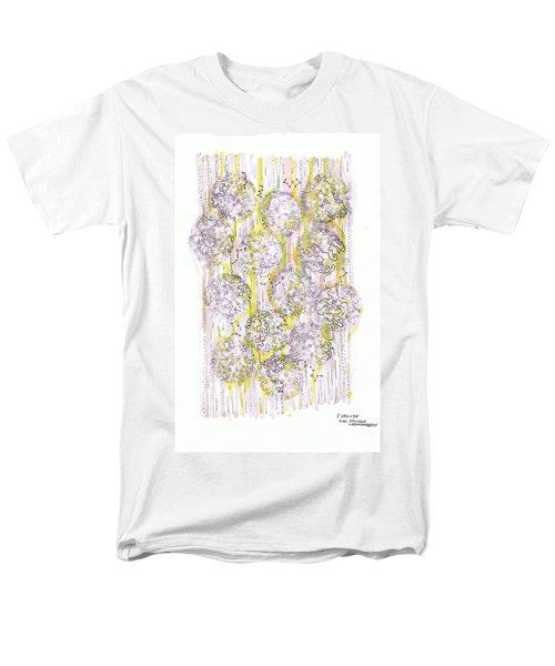 Size Exclusion Chromatography Men's T-Shirt  (Regular Fit) by Regina Valluzzi