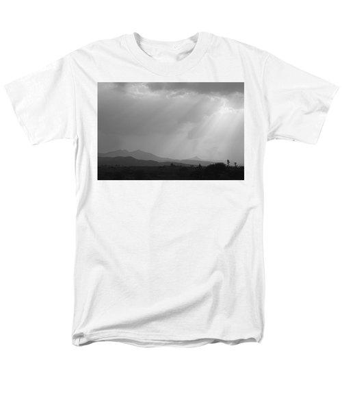 Skc 4928 Blessings Are Showering Men's T-Shirt  (Regular Fit) by Sunil Kapadia