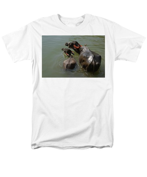 Skc 5603 The Coolest Way Men's T-Shirt  (Regular Fit) by Sunil Kapadia