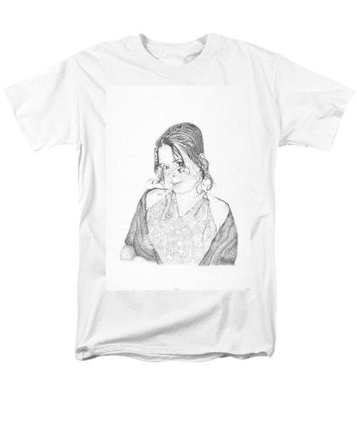 Men's T-Shirt  (Regular Fit) featuring the drawing Skye by Mayhem Mediums