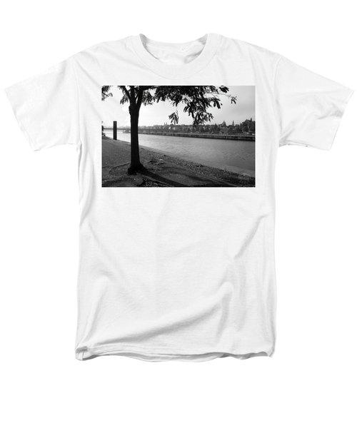 Skyline Maastricht Men's T-Shirt  (Regular Fit) by Nop Briex