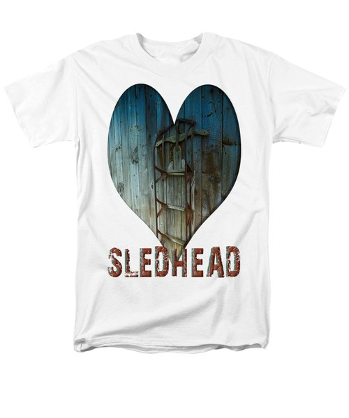 Sledhead Men's T-Shirt  (Regular Fit) by Mim White