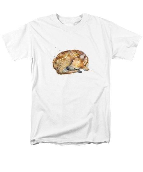 Sleeping Fawn Men's T-Shirt  (Regular Fit)