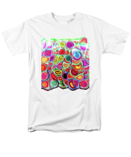 Men's T-Shirt  (Regular Fit) featuring the digital art Slipping And Sliding by Menega Sabidussi