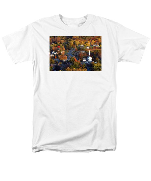 Small Town Aerial Men's T-Shirt  (Regular Fit)