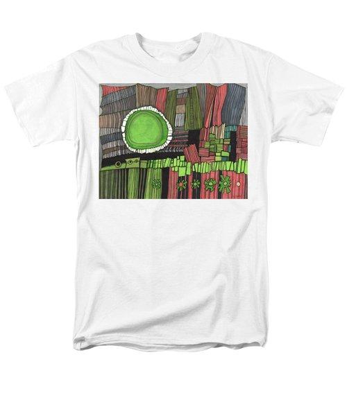 Sun Gone Green Men's T-Shirt  (Regular Fit) by Sandra Church