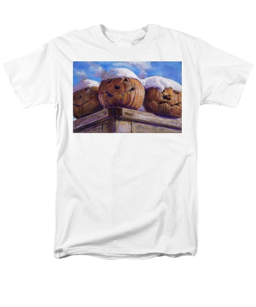 Men's T-Shirt  (Regular Fit) featuring the pastel Smilin Jacks by Billie Colson