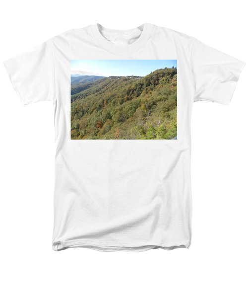 Smokies 19 Men's T-Shirt  (Regular Fit) by Val Oconnor