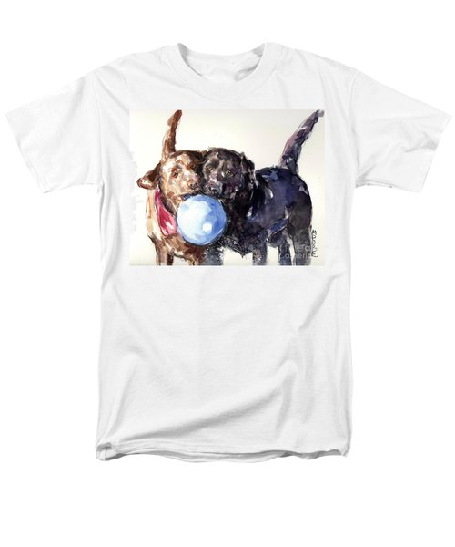 Snow Ball Men's T-Shirt  (Regular Fit) by Molly Poole