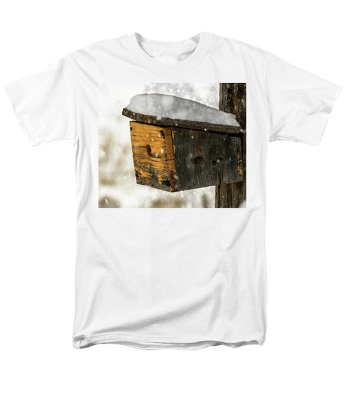 Snow Cover Men's T-Shirt  (Regular Fit) by Sherman Perry