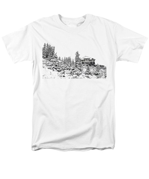 Snow In July 2 Men's T-Shirt  (Regular Fit) by Teresa Zieba
