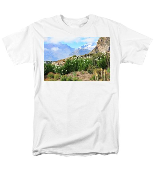 Snow In The Desert Men's T-Shirt  (Regular Fit) by David Chandler