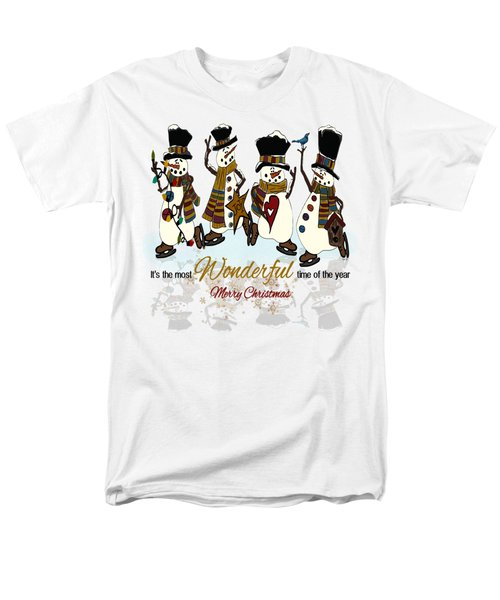 Snow Play Men's T-Shirt  (Regular Fit) by Tami Dalton