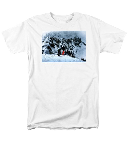 Men's T-Shirt  (Regular Fit) featuring the photograph Snowbird by Jim Hill