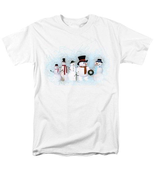Snowmen Men's T-Shirt  (Regular Fit) by Methune Hively