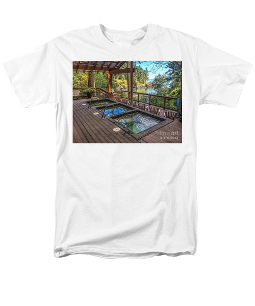 Men's T-Shirt  (Regular Fit) featuring the photograph Soak In Doe Bay by William Wyckoff