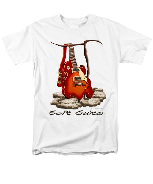Soft Guitar - 3 Men's T-Shirt  (Regular Fit) by Mike McGlothlen