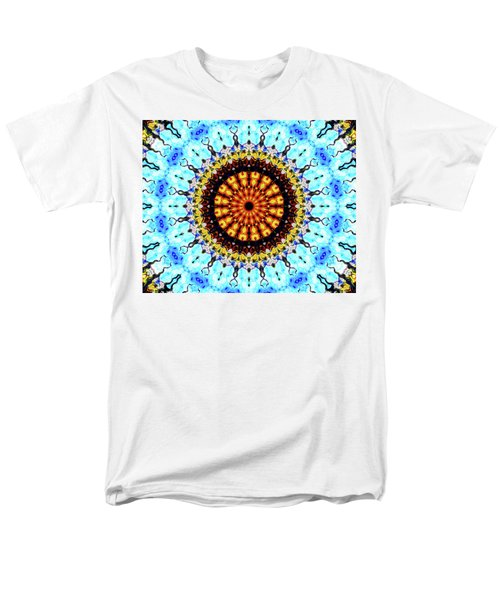 Men's T-Shirt  (Regular Fit) featuring the digital art Solar Flare 1 by Wendy J St Christopher